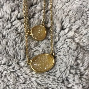 LOFT Jewelry - Gold necklace with stones
